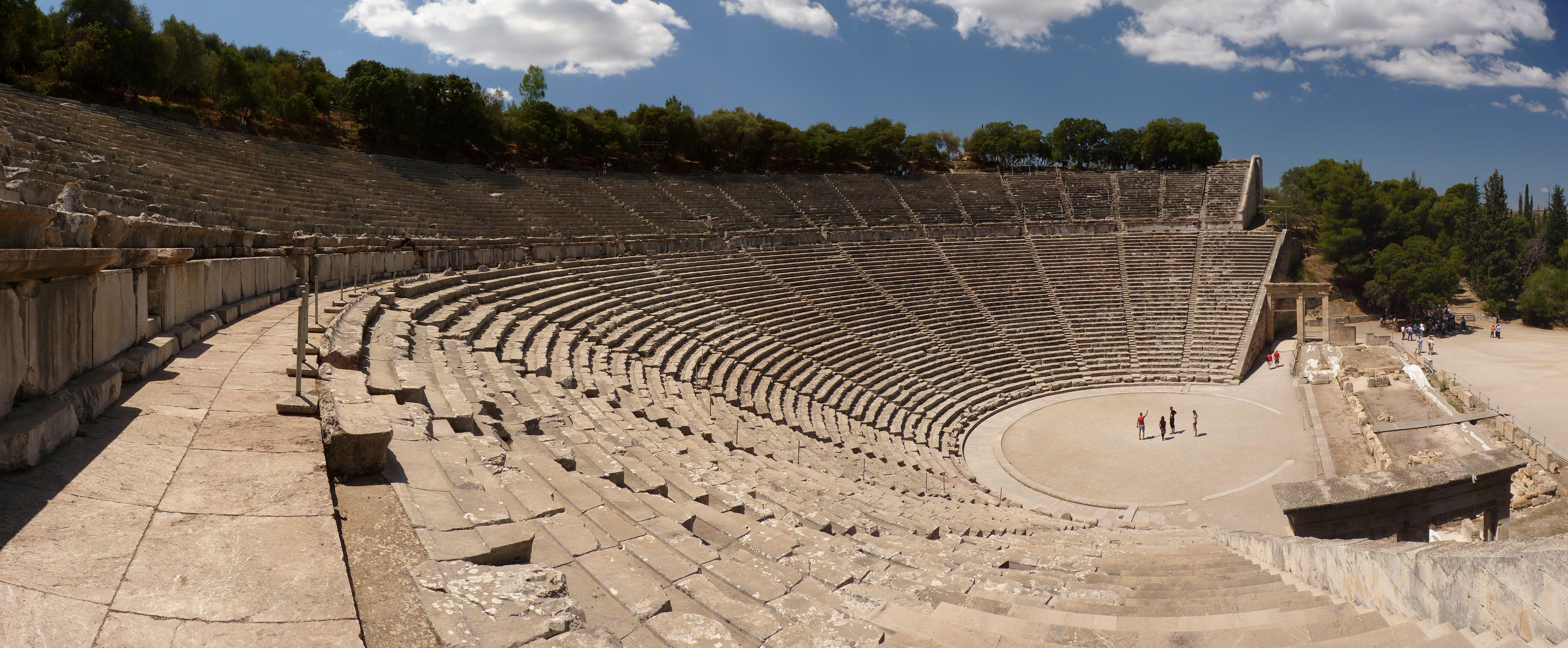 Teatr w Epidauros  iSztuka