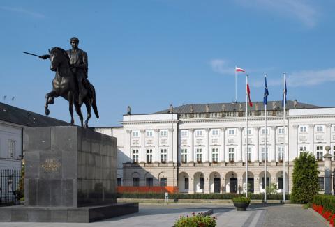 Fotografia: Pomnik księcia Józefa Poniatowskiego